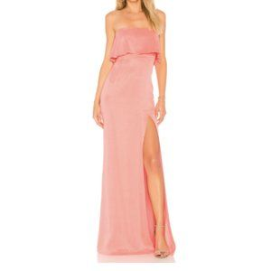 Lovers + Friends Anzen Gown Strawberry Ice